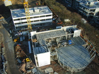 construction du campus EffiScience.