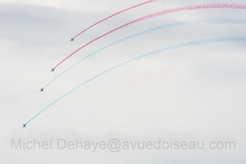 La Patrouille de France à Arromanches
