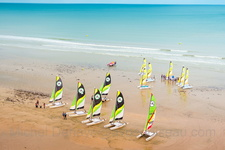 Voile à Cabourg